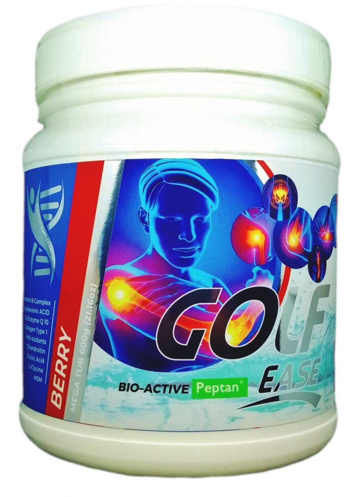 Buy 1 Golf Ease Sports Supplement 600 gram Collagen